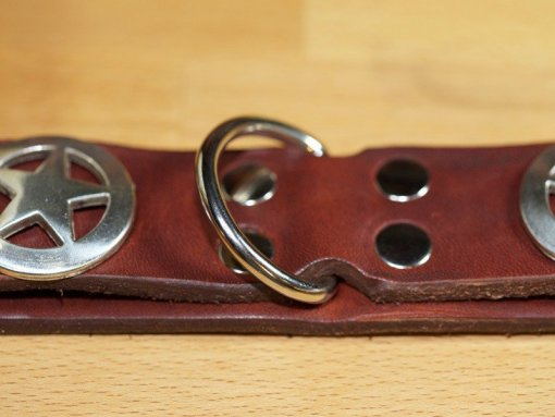 Best Leather Dog Collars, Fancy Leather Dog Collars, KobiCollars